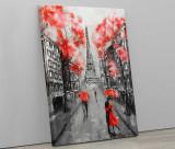 Tablou canvas personalizat cu peisaj pictat Paris