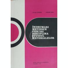 Indrumari metodice pentru disciplina Studiul materialelor