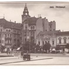 ORADEA-SAS PASSAGE -CARTE POSTALA ANII 30
