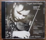 CD Nigel Kennedy - Tschaikowsky & Sibelius Violinkonzerte, emi records