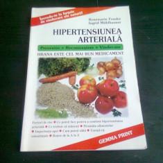 HIPERTENSIUNEA ARTERIALA - ROSEMARIE FRANKE / INGRID MUHLHAUSER