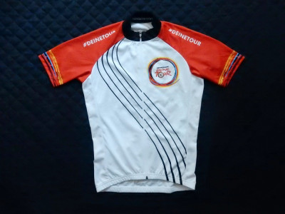 "Tricou ciclism BioRacer Speedwear ""In Germany We Ride"". Marime M,vezi dimensiuni foto"