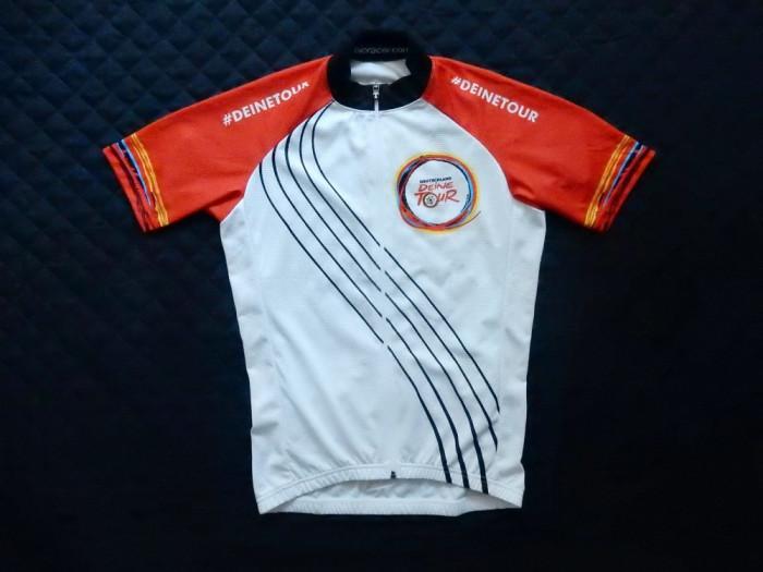 "Tricou ciclism BioRacer Speedwear ""In Germany We Ride"". Marime M,vezi dimensiuni"