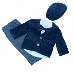 Costum elegant baieti Duomar DMR10-AL, Albastru