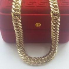 Lant Barbati/unisex dublu placat Aur 18K