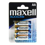 Baterii Alcaline Maxell 1.5V AA PK4 AA 1,5 V