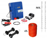 Set complet gard electric Kit 4