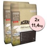 Cumpara ieftin ACANA Singles Free-Run Duck 2 x 11,4 kg