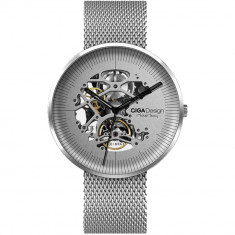 Ceas Mecanic Mi Ciga Design My Series Argintiu