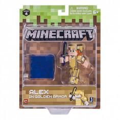 Set figurina Minecraft cu accesorii, seria 6, multicolor