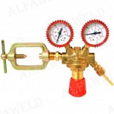 Reductor de presiune acetilena cu doua ceasuri