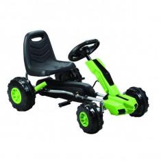 Kart cu pedale A Piccolino verde