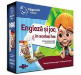 Cumpara ieftin Pachet carte si creion - Engleza si joc, in acelasi loc