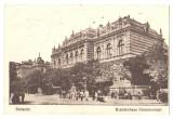 SV * Bucuresti * PALATUL BRANCOVENESC * 1917 *  stampila germana militara * WWI