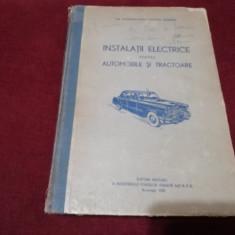 VOCHIN DUMITRU - INSTALATII ELECTRICE PENTRU AUTOMOBILE SI TRACTOARE 1956