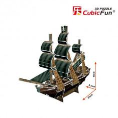Puzzle 3D CubicFun CBFA The Queen Anne's Revenge Mini