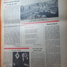 flacara 13 aprilie 1978-art. foto moldova noua,pascani,targoviste,dem radulescu