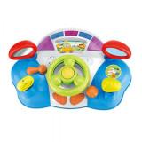 Jucarie interactiva bebelusi - masina cu volan muzical cu efecte si lumini