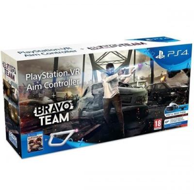 Controller Aim Sony PlayStation VR + joc Bravo Team foto
