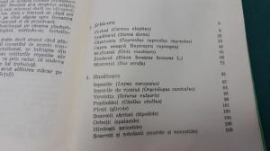 MAMIFERE DIN ROMÂNIA/ VOL. 2/ IONEL POP, VASILE HOMEI/ 1973