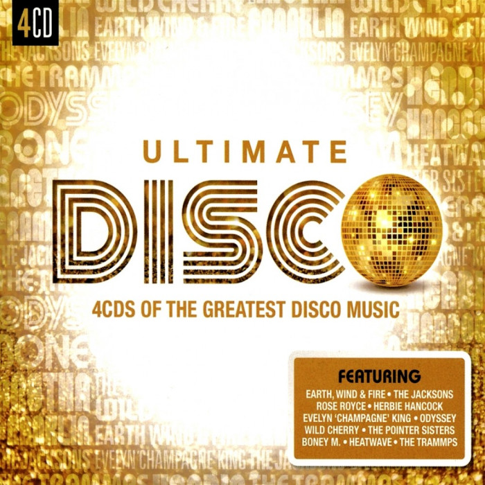 Various Artists Ultimate Disco (4cd)