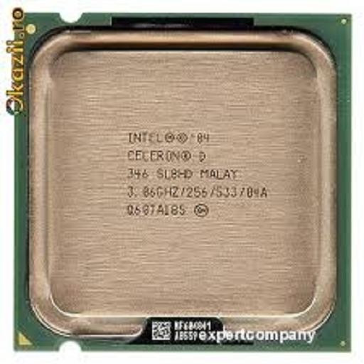 Procesor PC SH Intel Celeron D 346 SL9BR/SL8HD 3.06GHz