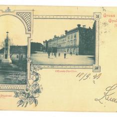 5087 - ALBA IULIA, Litho, Romania - old postcard - used - 1899