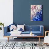 Tablou abstract canvas, Nonfigurativ, Acrilic, Art Deco