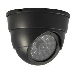 Camera supraveghere falsa LS-FADDC27, LED, Negru