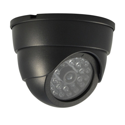 Camera supraveghere falsa LS-FADDC27, LED, Negru foto