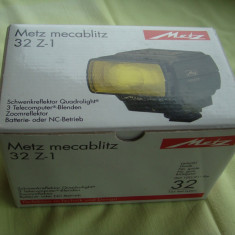 Blitz METZ Mecablitz 32 Z 1 -  NOU, Dedicat