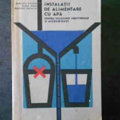 BURGHIU VICTOR - INSTALATII DE ALIMENTARE CU APA (1988, microirigatii)