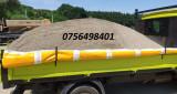 Transport nisip balastru piatră sorturi pământ, piatră