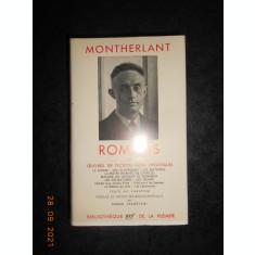 MONTHERLANT - ROMANS ET OEUVRES DE FICTION NON THEATRALES (1959, ed. bibliofila)