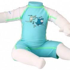 Junior Suit costum inot UV albastru 92