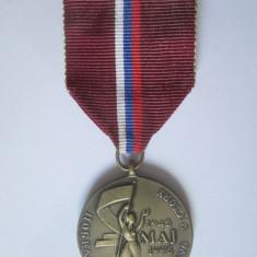 Cumpara ieftin Rara! Medalia Victoriei pentru veterani Slovacia,50 ani de la incheierea WWII