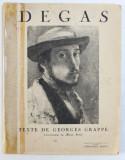 DEGAS par GEORGES GRAPPE , 1936