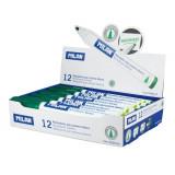 Cumpara ieftin Set 12 Markere MILAN Verzi Pentru Tabla Magnetica, Marker, Marker Verde, Markere Verzi, Marker cu Cerneala Verde, Marker Nepermanent Tabla, Markere Ne