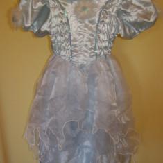 costum carnaval serbare cenusareasa pentru copii de 3-4 ani