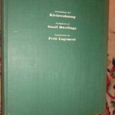 carte de arhitectura in limba germana / vol.1+2/an 1935/163+83pagini