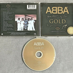 ABBA - Gold Greatest Hits CD (1999) Signed Cover Edition
