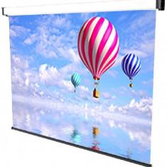 Ecran de proiectie montabil pe perete sopar new spring 180 x 190cm mecanism de blocare