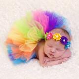 Costum fusta tutu si bentita bebelusi sedinte foto