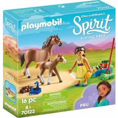 Pru cu calut si manz Playmobil Spirit