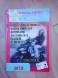 Curs practic si teoretic pentru obtinerea permisului de conducere scutere mopede
