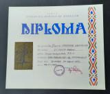 Diploma Navomodelism 1974 - Concurs navomodele Fed. rom. de modelism