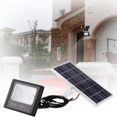 Lampa solara 50W cu panou solar si telecomanda