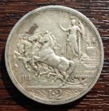 (A293) MONEDA DIN ARGINT ITALIA - 2 LIRE 1914, VITTORIO EMANUELE III, Europa