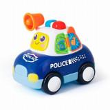 Masina de politie cu lumini si sunete pentru bebelusi - Hola Toys