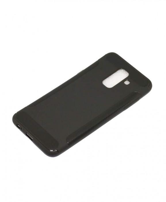 Husa TPU Case Wing Series Samsung Galaxy A7 2018, A750 Gri